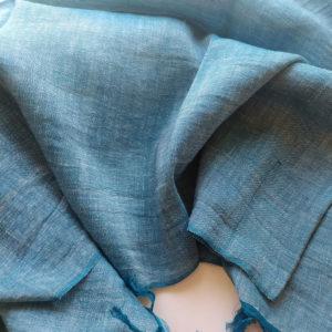Schal aus Seide, Leinen, Baumwolle
